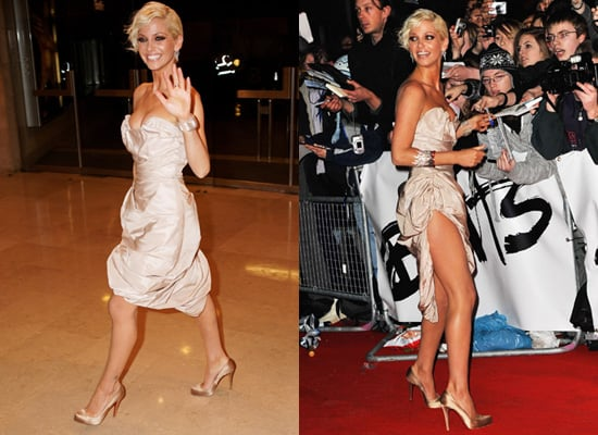 Sarah Harding from Girls Aloud at the 2009 Brit Awards