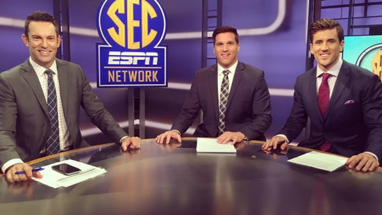 Jordan Rodgers' Co-Hosts Want to 'Give Him a Rose' in SEC Network Debut