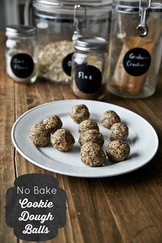 No-Bake Cookie Dough Balls