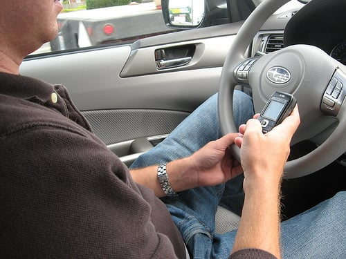Texting While Driving Ban