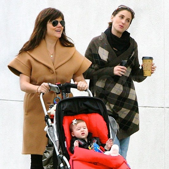 Pictures of Tiffani Thiessen and Harper Smith Walking With a Friend in LA