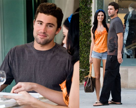 Photos of Brody Jenner and Jayde Nicole Having Lunch in LA