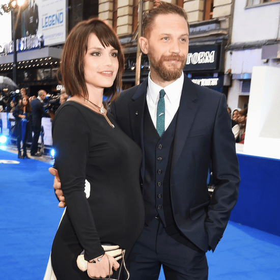 Tom Hardy and Pregnant Charlotte Riley at Legend Premiere