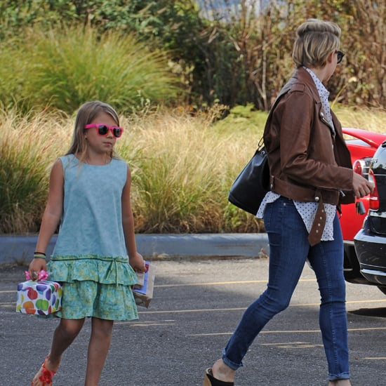 Michelle Williams With Matilda Ledger in NYC on Birthday