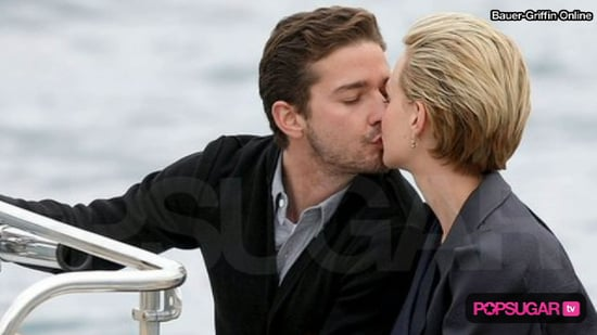 Video of Shia LaBeouf and Carey Mulligan Kissing at the 2010 Cannes Film Festival
