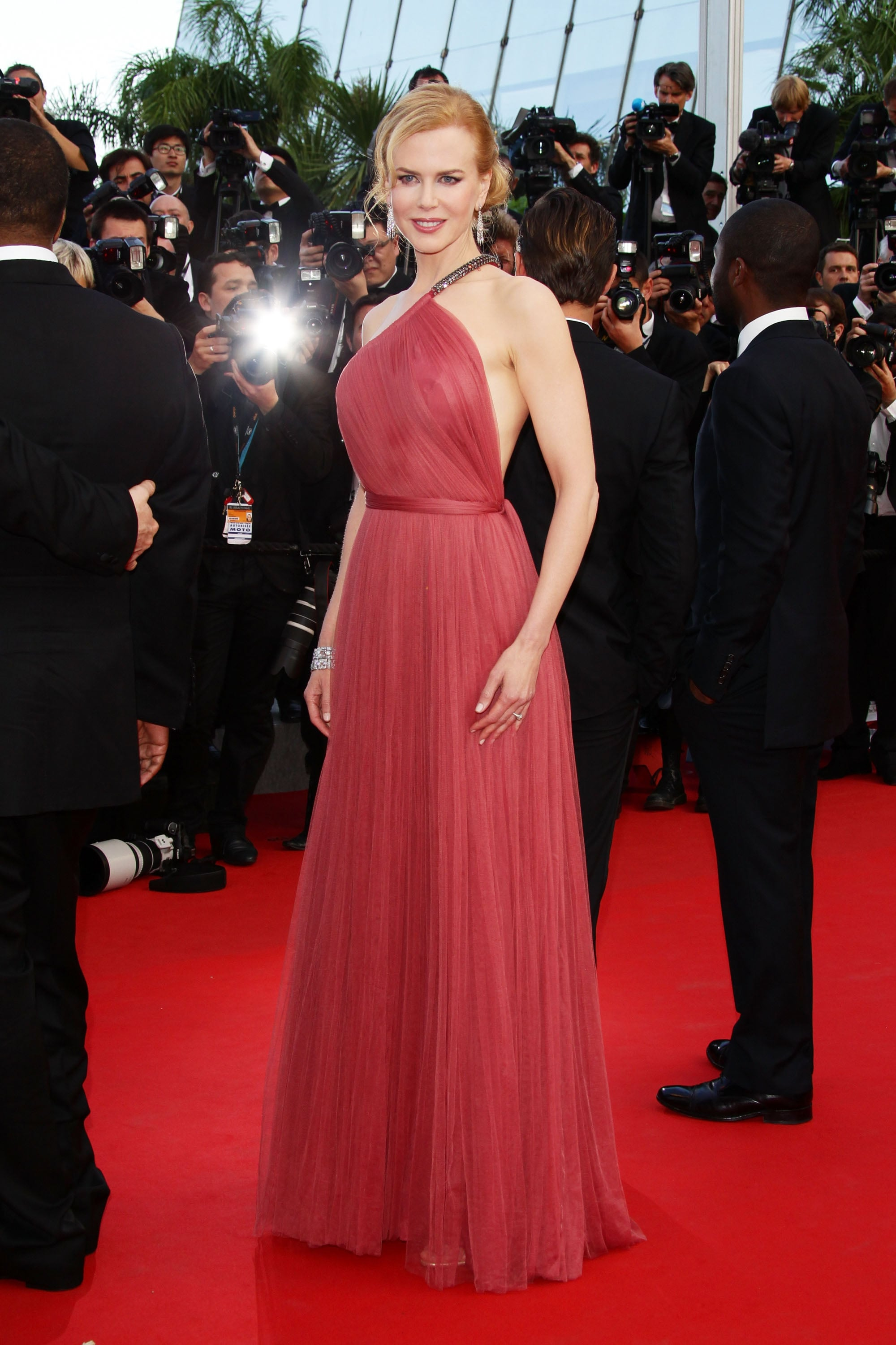 Nicole Kidman glowed in a cherry-red frock at the premiere of The Paperboy at the Cannes Film Festival in 2012.