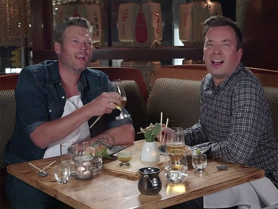 WATCH: Blake Shelton Tries Sushi for the First Time and It's Hilarious