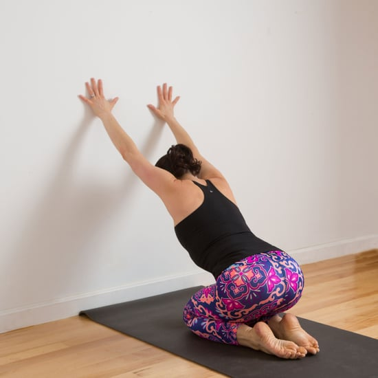 Shoulder and Neck Stretch Against the Wall