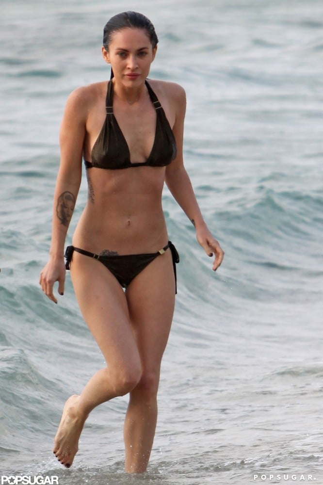 All of Megan Fox's Best Bikini Moments