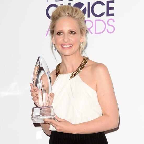 Sarah Michelle Gellar Thanks Buffy Fans at PCAs
