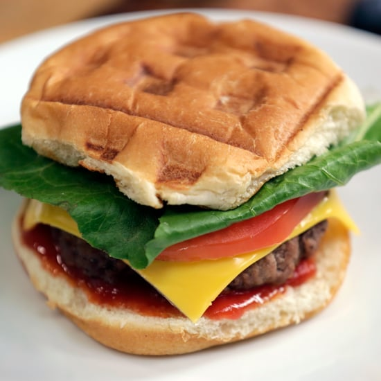 Burger Made With a Waffle Iron | Dorm Room Hacks