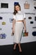 Miranda Kerr celebrated her partnership with ShopStyle at the launch party in NYC, where she dazzled in white.