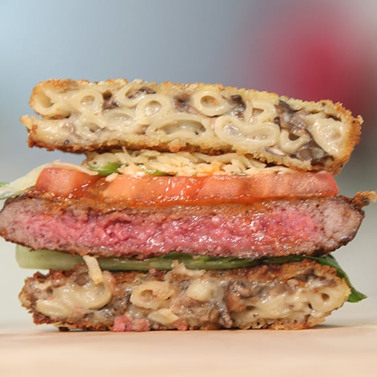 Mac and Cheese Burger Recipe | Video