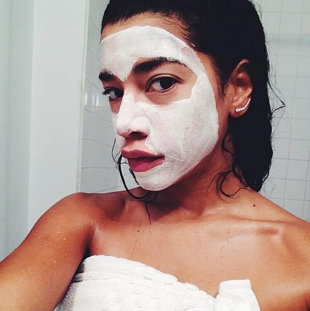 Her DIY Face Mask