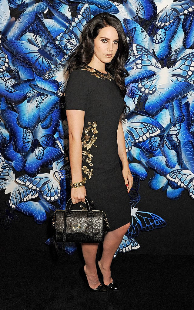 Lana Del Rey at Mulberry