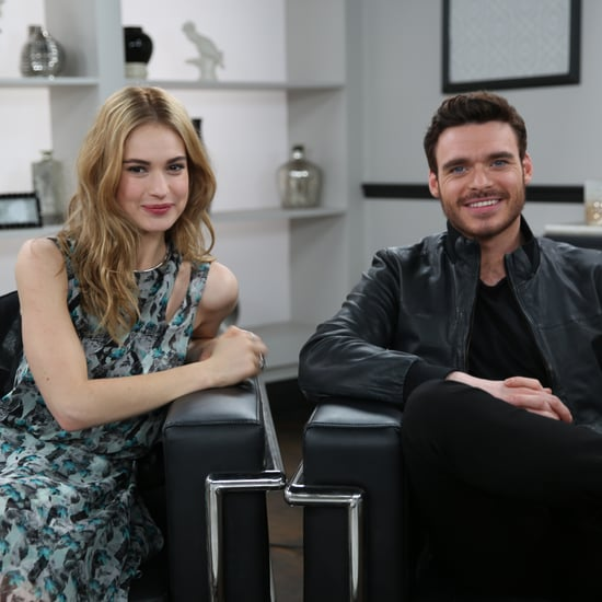Lily James and Richard Madden Cinderella Interview (Video)