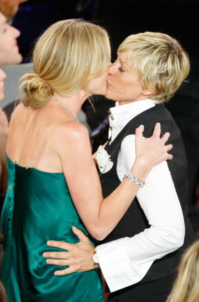 They kissed at the June 2008 Daytime Emmy Awards.