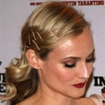 How-To: Diane Kruger's Offbeat Bobby-Pinned Style