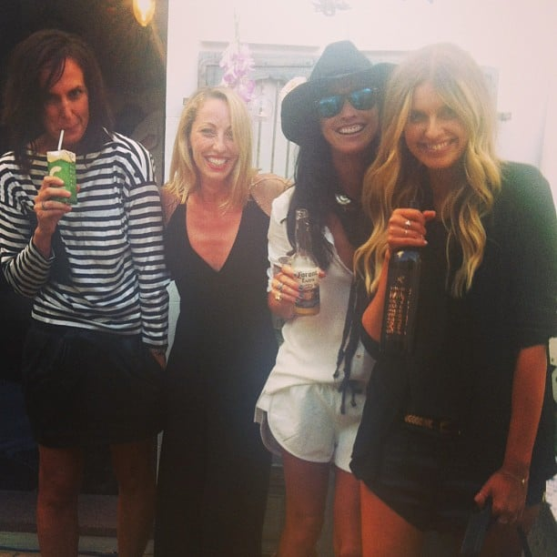 What a stylish bunch! One Teaspoon's Jamie Blakely hung out with Tash & Elle from They All Hate Us, and Cirqlate PR, at the launch of One Teaspoon's homewares collection. Source: Instagram user oneteaspoon_