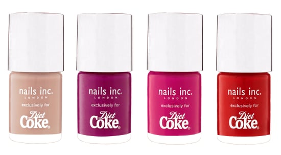 Win Nails Inc Products with Diet Coke