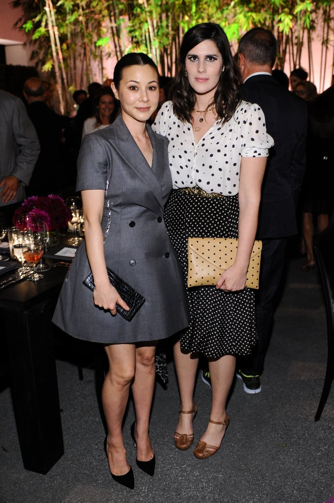 China Chow and Laura Mulleavy joined Bottega Veneta to support the Hammer Museum at the annual Gala in the Garden.