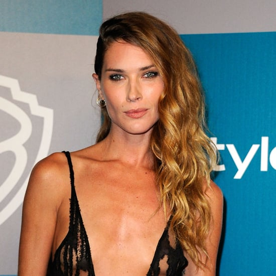 Erin Wasson Hair and Makeup at the 2012 Golden Globes InStyle After Party