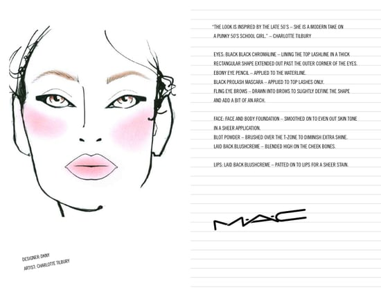 M.A.C. Makeup Looks From The Fall 2009 Shows: Part Two
