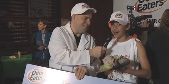 Little Girl With Big Stink Takes Home Prize At Rotten Sneaker Contest
