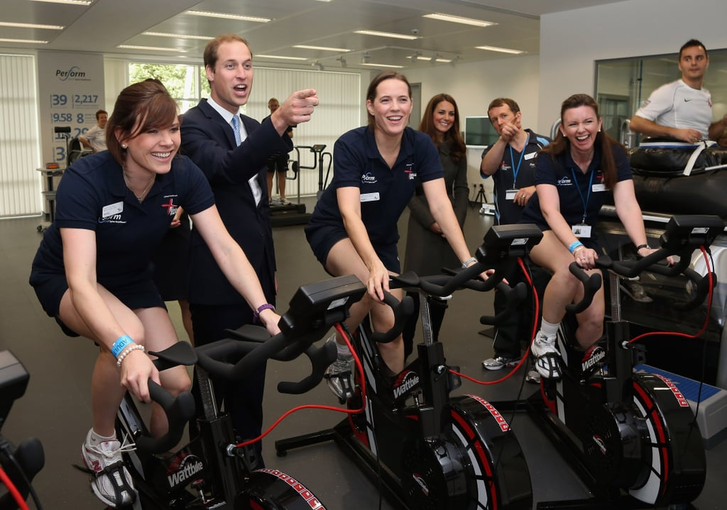 Kate and William Help Christen a New English Soccer Centre