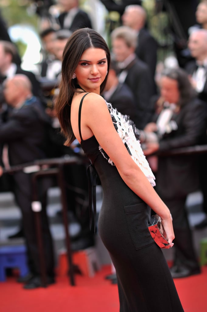 Kendall Jenner took a solo trip down the red carpet at the Grace of Monaco premiere on Thursday.