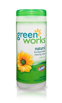 Casa Beta: Clorox Green Works Wipes