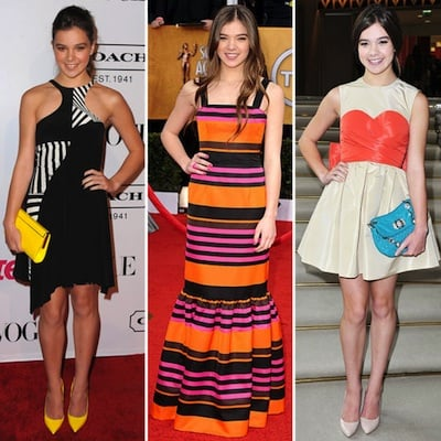 Hailee Steinfeld Red Carpet Style Pictures 2011