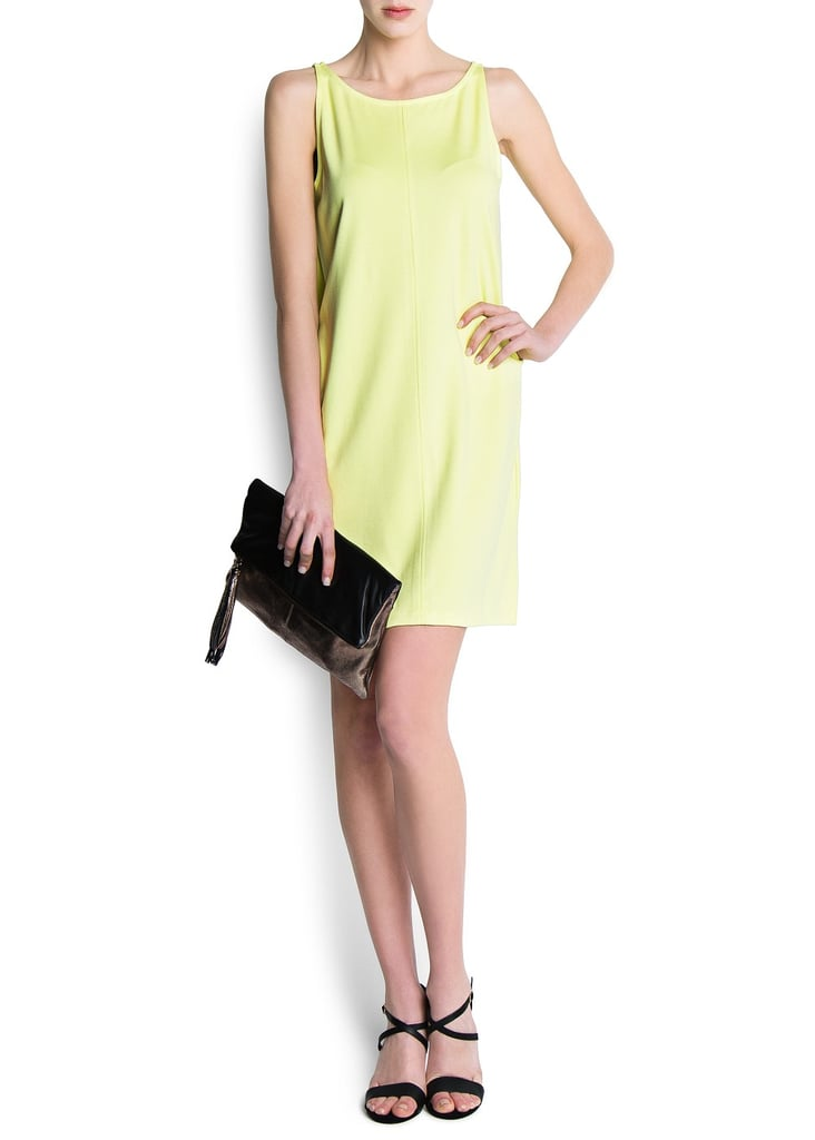 Mango's Cocoon dress ($60) comes in an effortless shape and a standout pastel hue.