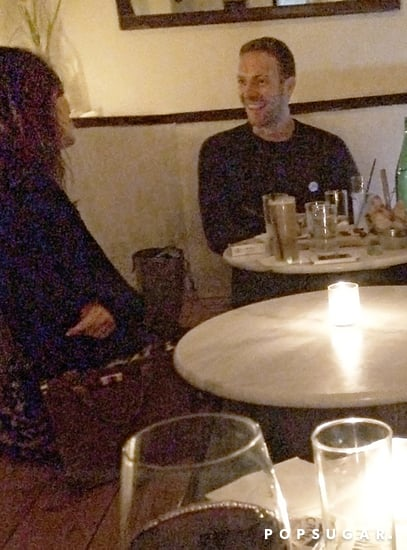 Chris Martin and Alexa Chung Have an Intimate, Animated Date Night