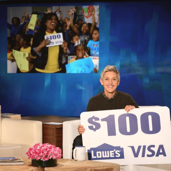 Ellen's Most Generous Giveaway to Detroit Public School