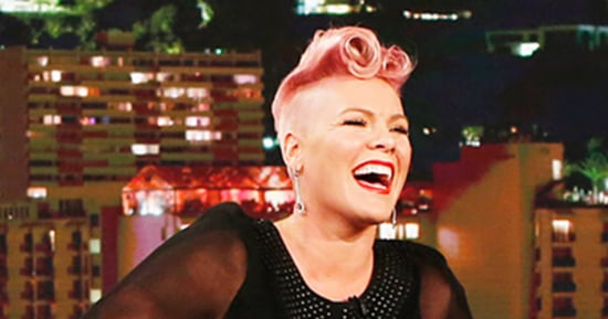 Pink Loses It on 'Jimmy Kimmel Live' When She Meets Celebrity Crush Johnny Depp