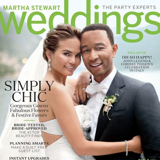 Chrissy Teigen Wedding Dress Pictures