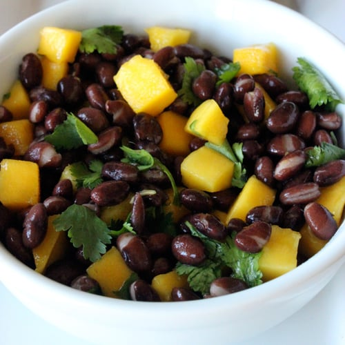 Black Beans in Mango Sauce