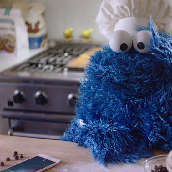 Cookie Monster iPhone Commercial