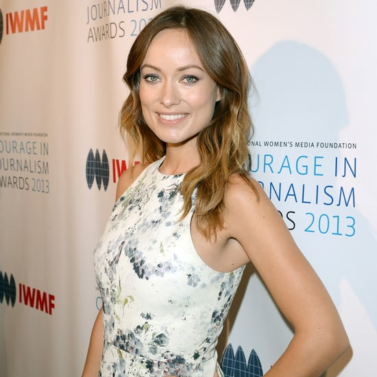 Pregnant Olivia Wilde at Courage in Journalism Awards