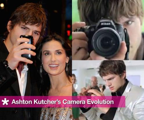 Sugar Shout Out: Ashton Kutcher's Camera Evolution