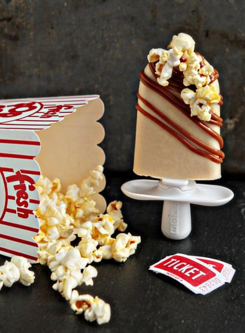 Caramel Popcorn Quick Pops