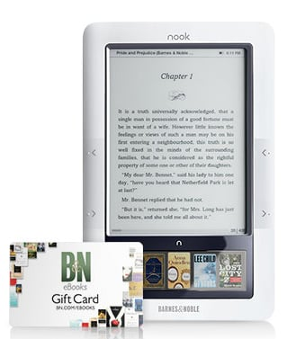 Buy a Barnes and Noble Nook, Get a Free $50 Gift Card