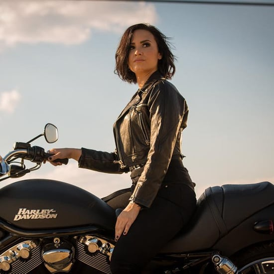 "Demi Lovato's ""Confident"" Music Video"