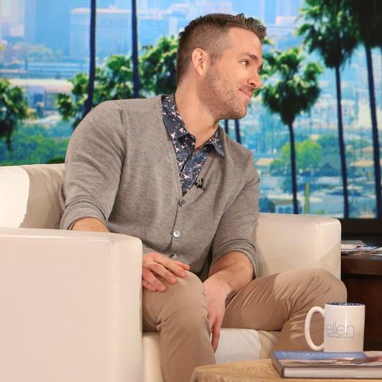 Ryan Reynolds The Ellen DeGeneres Show February 2016