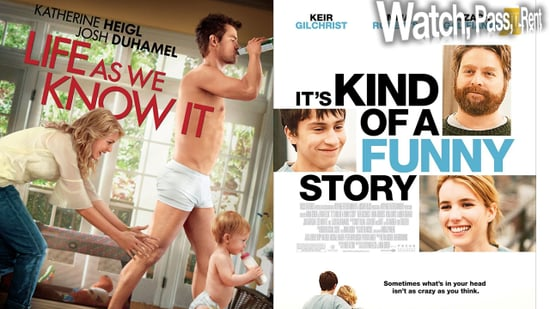 Video Movie Reviews For Life as We Know It and It's Kind of a Funny Story