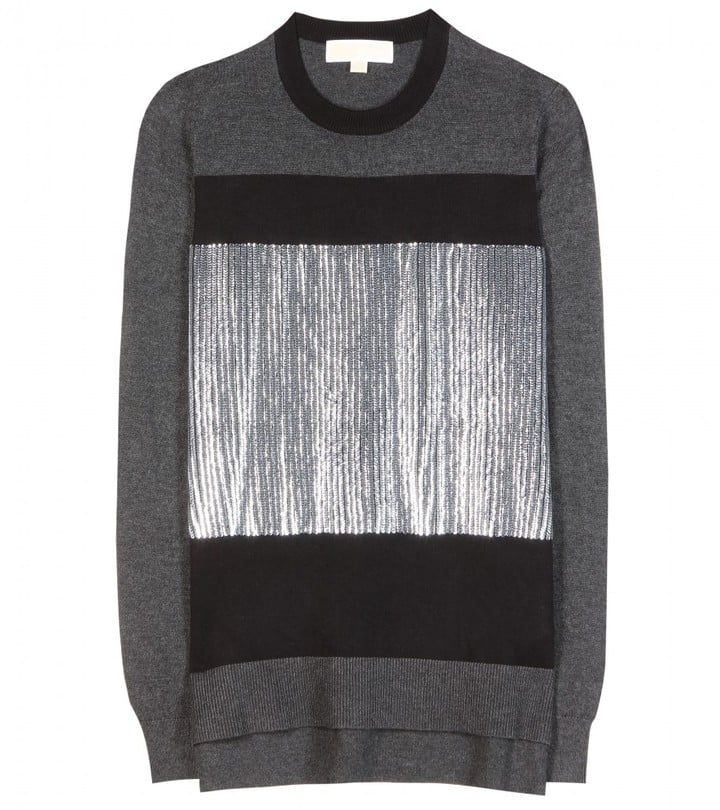 Michael Michael Kors Sequin-Embellished Sweater