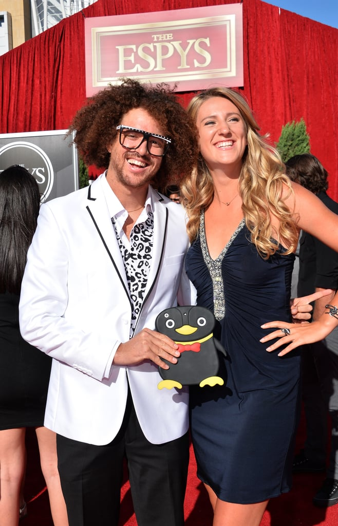 "Stefan ""Redfoo"" Gordy and Victoria Azarenka"