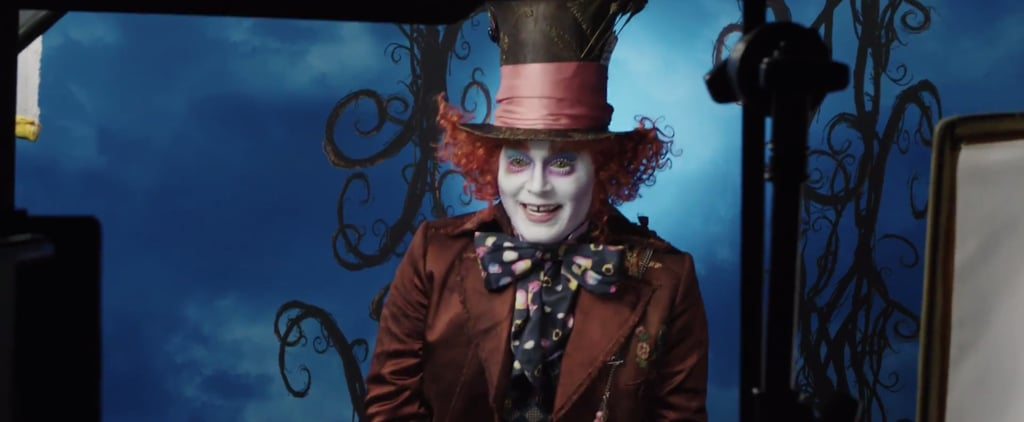 Johnny Depp Suprises Guests at Disneyland While Dressed Up as the Mad Hatter