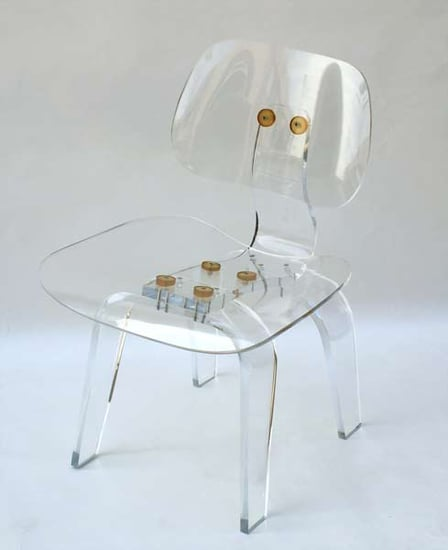 Crave Worthy: Acrylic Lounge Chair